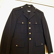 Vintage US AIR FORCE Dress Jacket..Blue  Wool...Size 40R..Excellent Vintage Condition