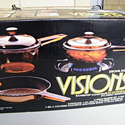 Visions By Corning 5 Piece Starter Set..Mint..In Box