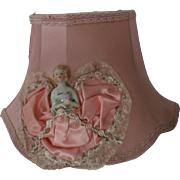 40's Era Half Doll Bed Lamp...