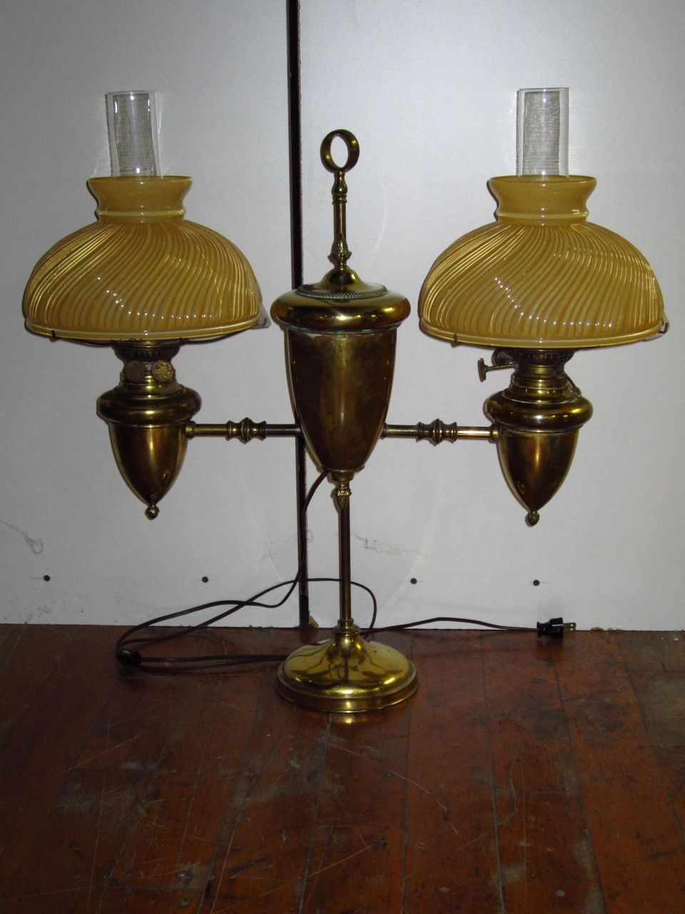 19th Century Student Lamp From Litchfieldantiques On