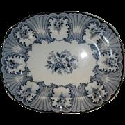 Late 19th Century Transferware Platter...
