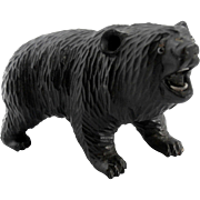Hand Carved Black Forest Bear...