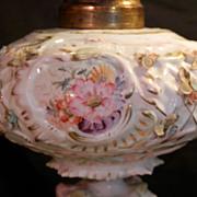 Floral Dresden Lamp...