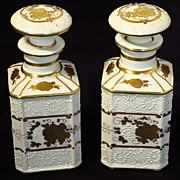 French Cologne Bottles....