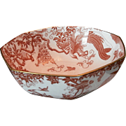 Royal Crown Derby Red Aves Bowl....