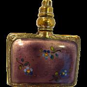 Guilloche Enamel Perfume Bottle....