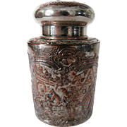 Repousse Tea Caddy...