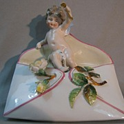 KPM Porcelain Cupid Figurine.....
