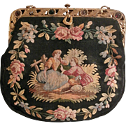 Mid Century Tapestry Purse..