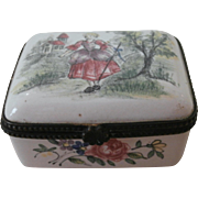 Late 19th Century Enamel Box...