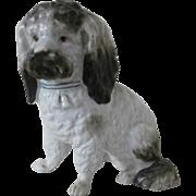19th Century  Porcelain Dog...