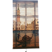 Early 20th Century Window Shade....