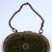 19Th Century Metal Coin Purse....