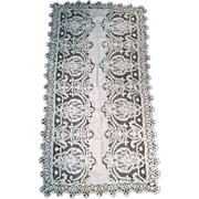 Lace and Linen Runner...