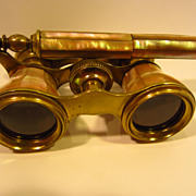 Late 19Th Century/ Mother of Pearl Opera Glasses...
