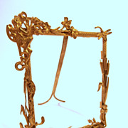 19Th Century  Gilt Brass Frame....