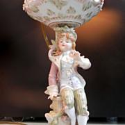 Porcelain Dresden/Meissen Style Lamp...