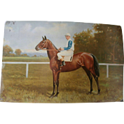"1915 Derby Winner Lithograph/ ""Rosebud""..."