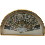 19 Century Hand Painted Fan....