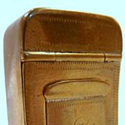 19th Century Brass Snuff Box...