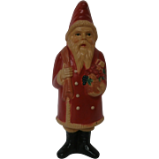 Late 1930's Celluloid Santa Rattle...