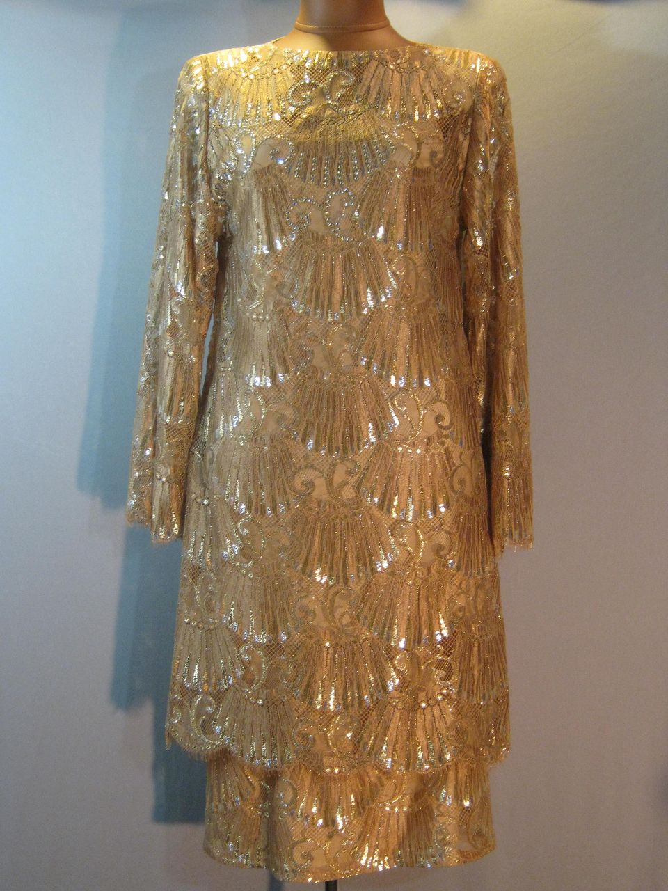 Couture Mollie Parnis Lace Dress.....