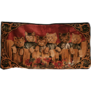 1930'S Cat Tapestry...