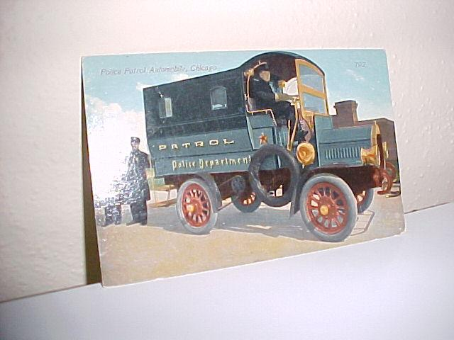 Chicago Police Post Card