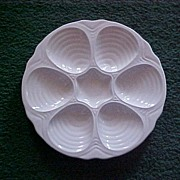Hall Oyster Plate