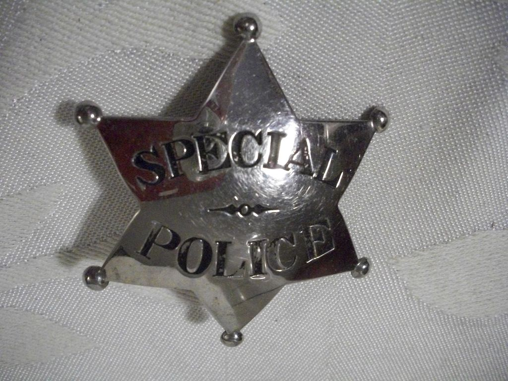 Special Police 6 point badge