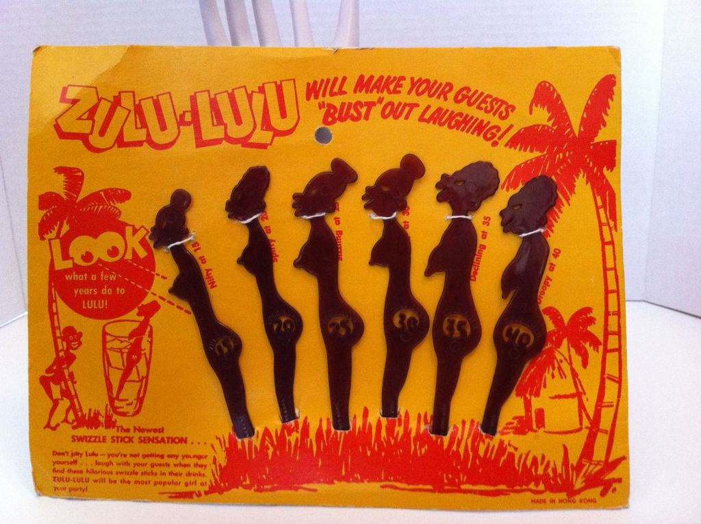 Zulu Lulu Swizzle Sticks
