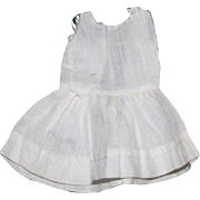 "Antique cotton petticoat for 7"" doll"