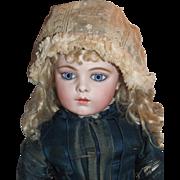 Delicate antique baby or doll bonnet