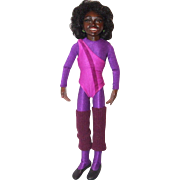 "11-1/2"" NIADA resin gymnast, TRACY"
