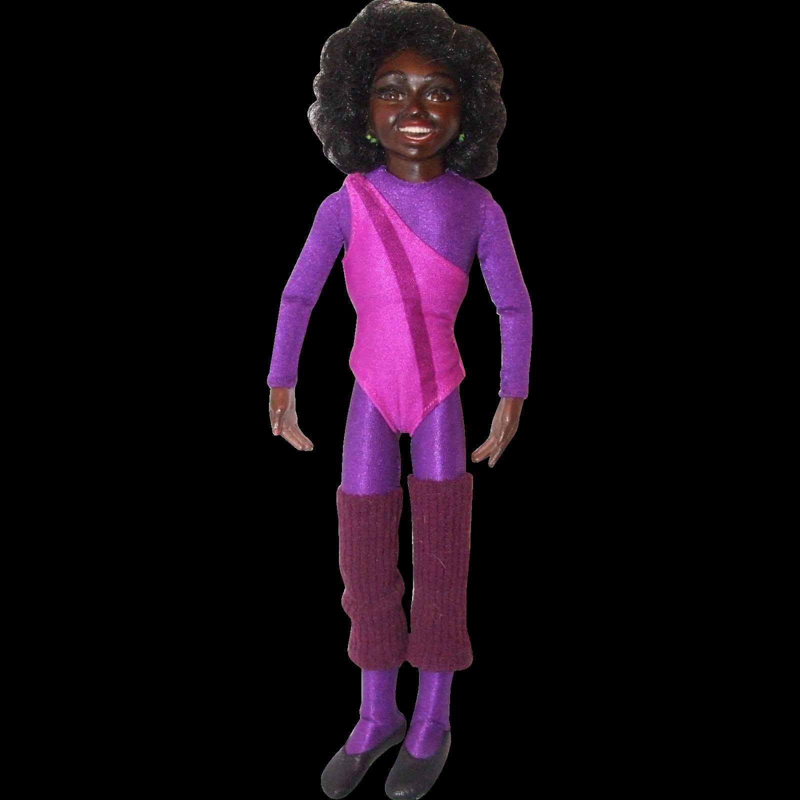 "11-1/2"" NIADA resin gymnast, TRACY"