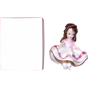"1-5/8"" Artist's rendition of Nancy Ann Storybook Doll"