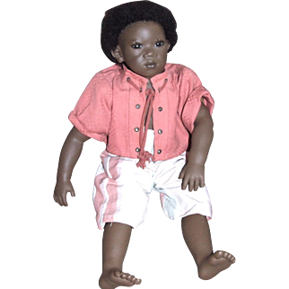 """22"""" Pemba from Annette Himstedt's Summer Dreams collection, MIB"""