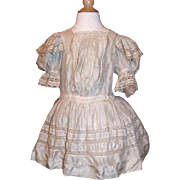 Charming antique dress for toddler or large doll