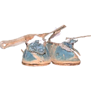 Antique French shoes for bebe