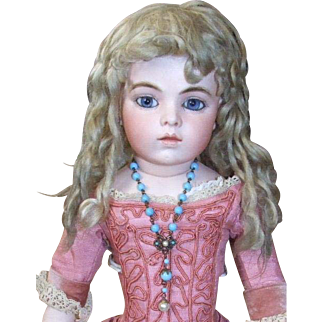 Antique jewelry set for doll
