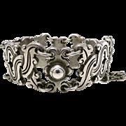 1939 William Spratling Taxco Mexican 980 Silver Vindobonesis Bracelet