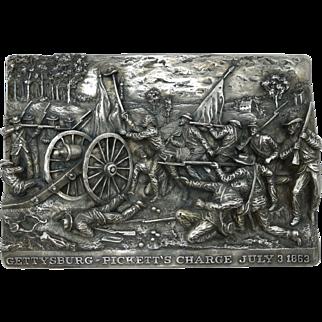 "8 3/8"" Henryk Winograd Sterling Silver High Relief Plaque"