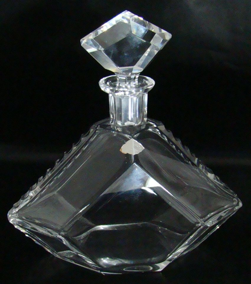 Josephinenhutte Lead Crystal Decanter – Circa: Early-Mid 1900's