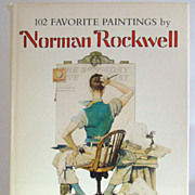 102 Favorite Paintings by Norman Rockwell, Introduction by Christopher Finch