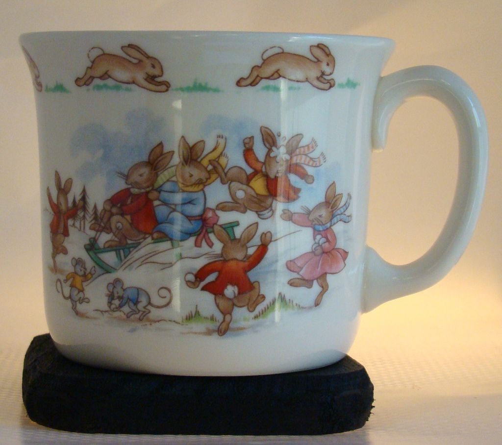 "Royal Doulton ""Bunnykins"" English Bone China Child's Mug"