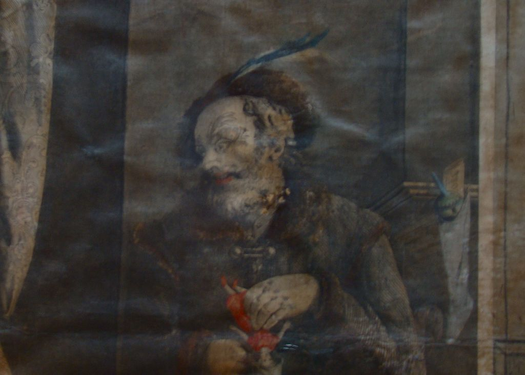 "Engraving  -""Santa Claus"" – John Gadsby Chapman – Circa Mid to Late 1800's"