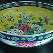 Japanese Bowl Styled After Chinese K'ang Hsi Period Porcelain – Circa: 1900 -1920