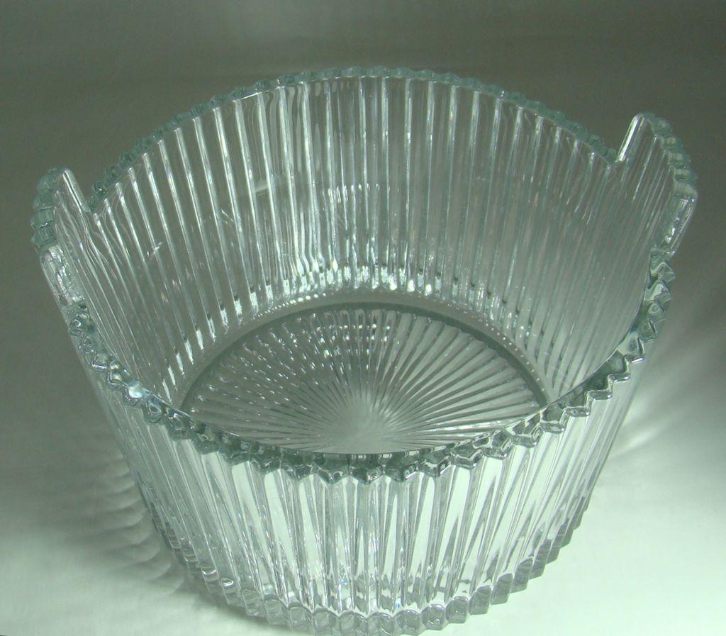 Heisey Glass No. 1469 Ridgeleigh Pattern Ice Bucket 1935 - 1944