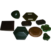 Vintage Assorted BAKELITE Buttons