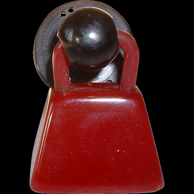Vintage realistic snapette bakelite pocketbook button sold